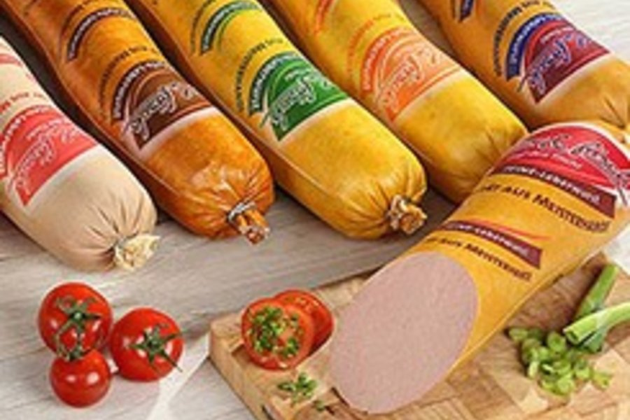 Textile casings for cooked and scalded sausages